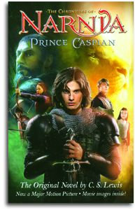 Prince Caspian (movie cover, children/youth) - from the Chronicles of Narnia