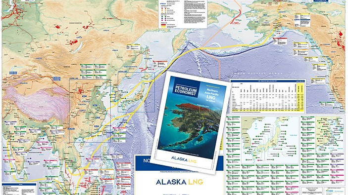 Northern Asia-Pacific LNG Map - 1st edition