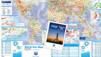 World Gas Map - 2020 edition