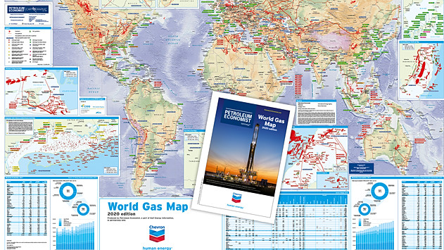 World Gas Map - 2020 edition