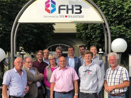 Entwicklungen und Statusmeldung im Juli und August 2019: FH3.