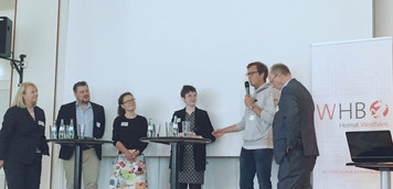 """WLW Vorstand als """"Speaker"""" beim Westfälischen Heimatbund."""