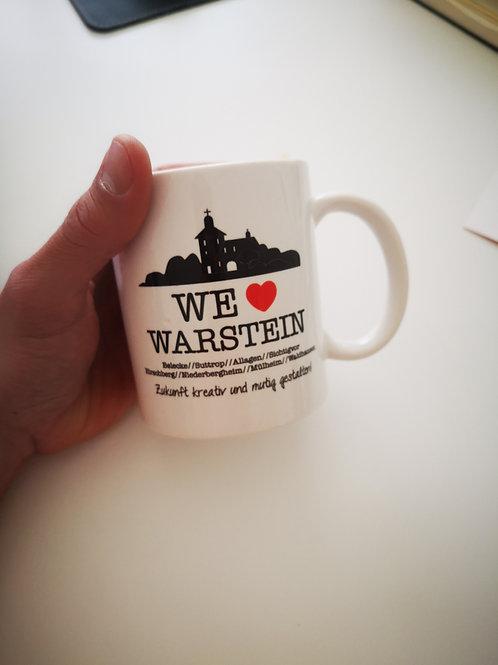 We love Warstein Tasse