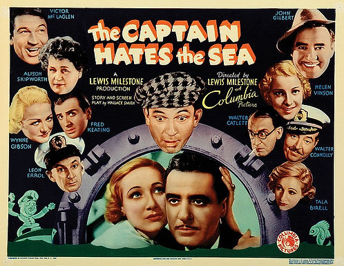 Cinema Revisited The Captain Hates The Sea 1934