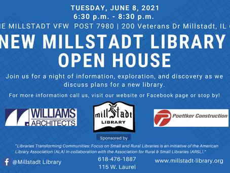 Millstadt Library Open House – Success!