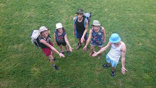 Camping Herbe Randonnée