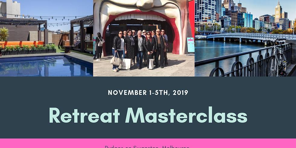 Melbourne - A Retreat Masterclass