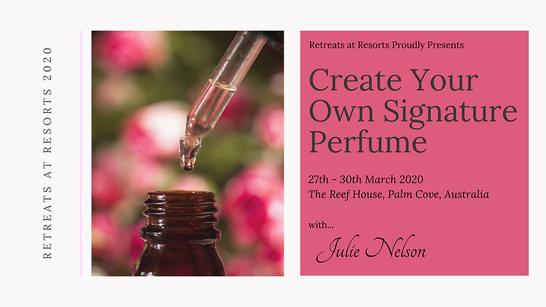 Create Your Own Signature Perfume