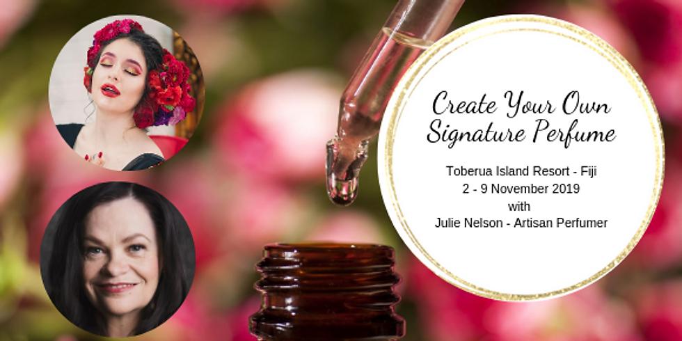Fiji - Create Your Own Signature Perfume - Registrations Closed