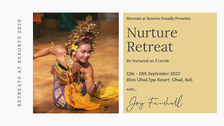 Nurture Retreat - Be Nurtured on 3 Levels