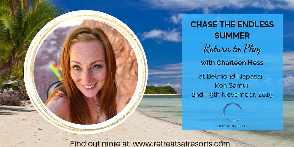 Thailand - Koh Samui - Return to Play: Reclaim your Life of Freedom, Purpose and Joy - Registrations closed