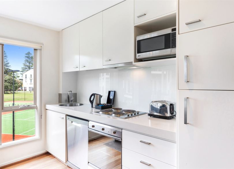 Apartment kitchens