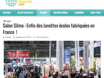 News Fraiches - Site d'actualité - Parution du 24 Septembre 2014