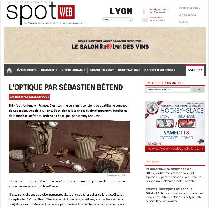 Spot Web- OpSB