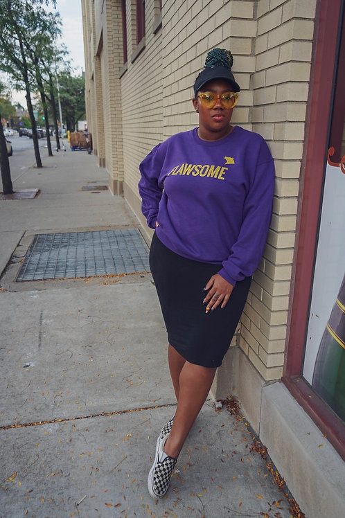 Purple Flawsome Sweatshirt