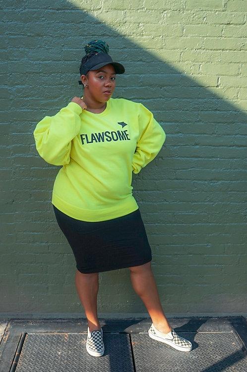 Neon Flawsome Sweatshirt