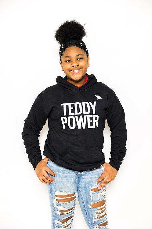 Kids Teddy Power Hoodie [black]