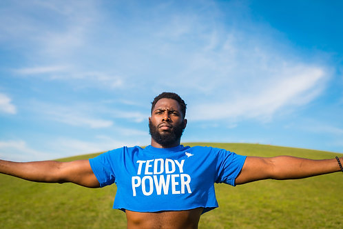 Teddy Power Crop Top