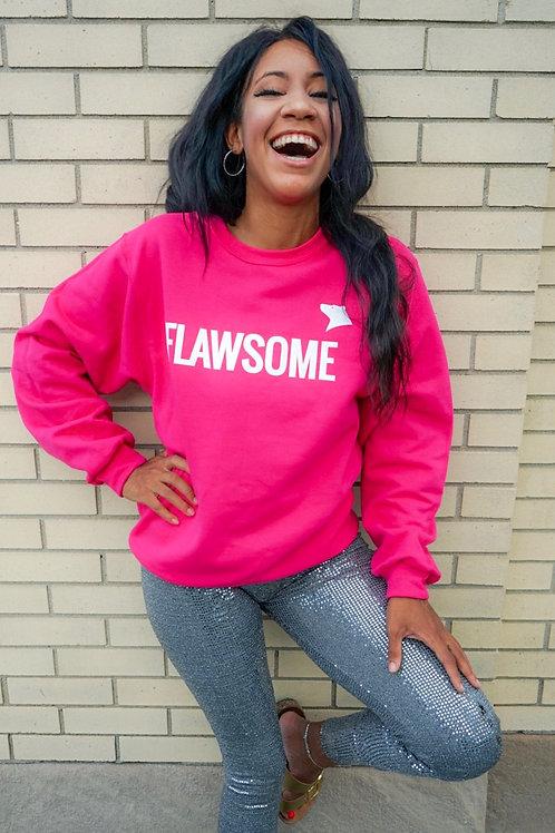 Pink Flawsome Sweatshirt