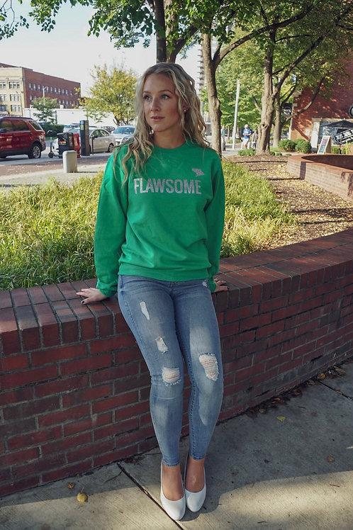Green Flawsome Sweatshirt