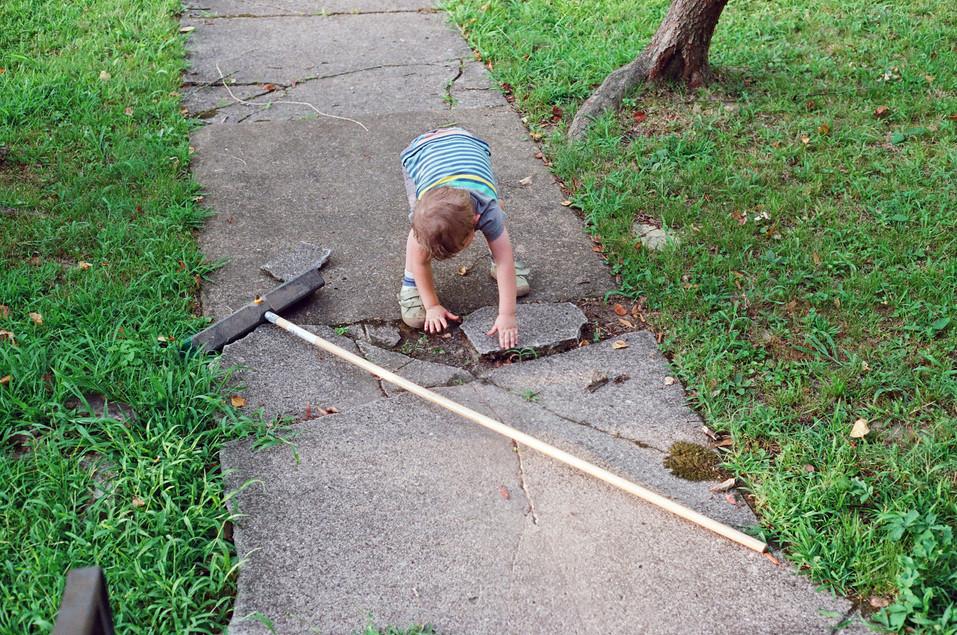 Mattie Sweeping
