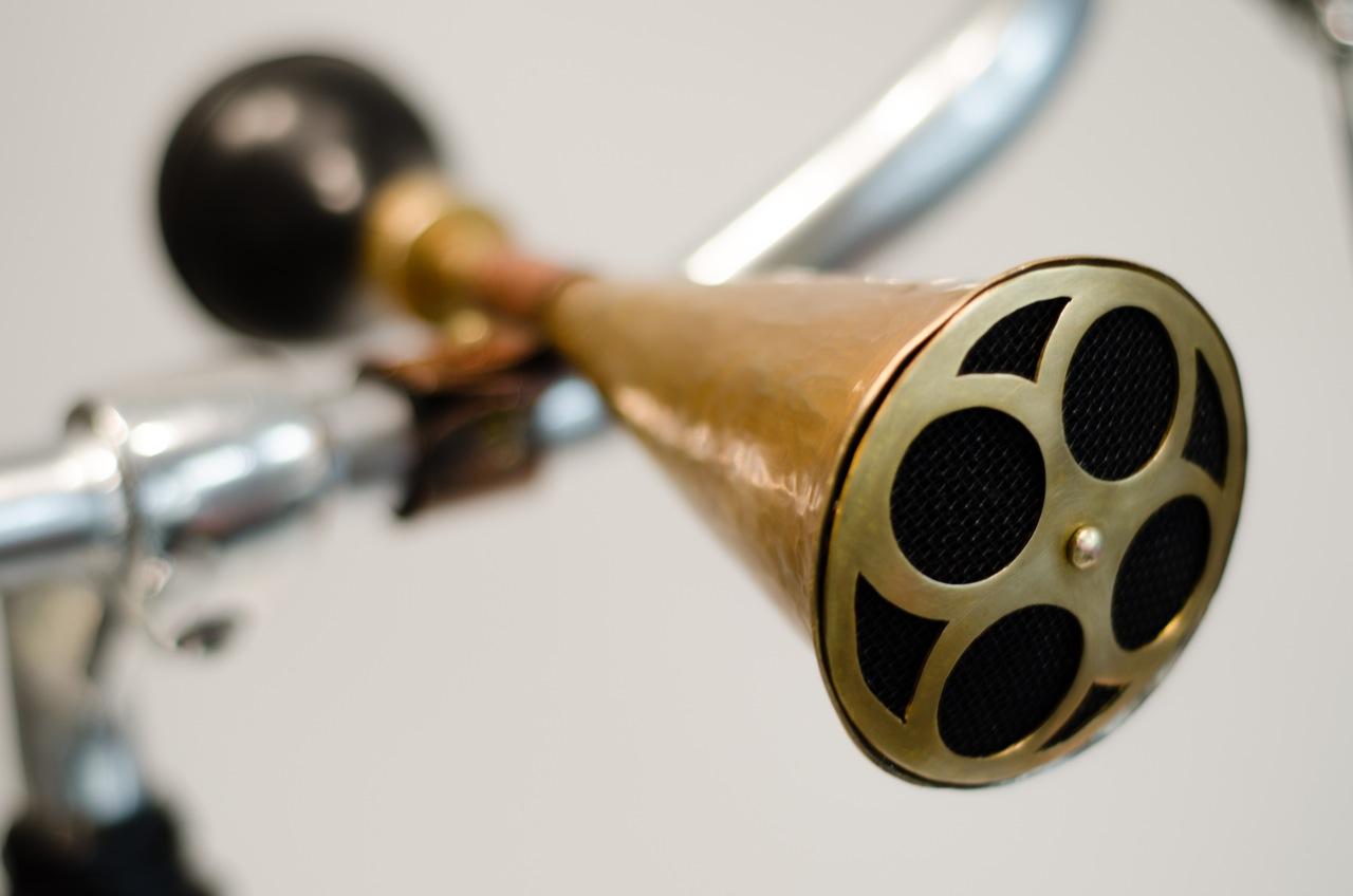 Bike Horn in Brass