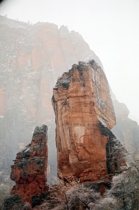 Formations in Zion