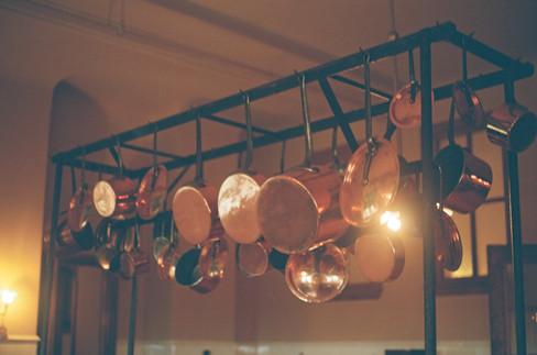 Servant's Quarters: Copper Pots