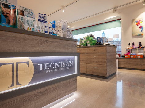 Punto vendita Tecnisan di Cles