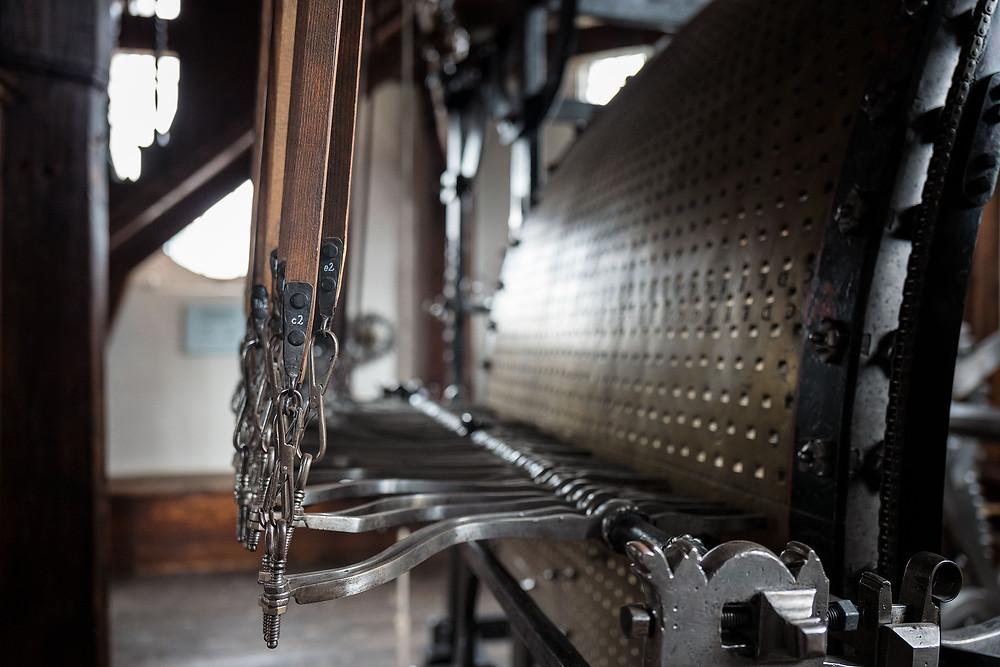 Glockenspiel mechanism