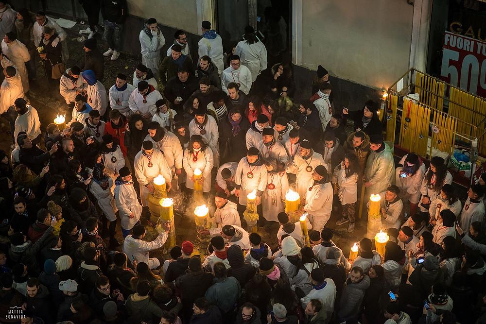 momento di preghiera collettiva