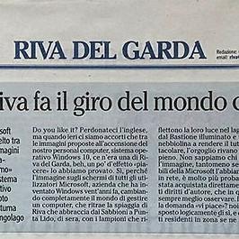 L'Adige 21/02/2016