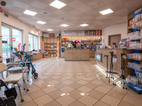 Punto vendita Tecnisan di Trento