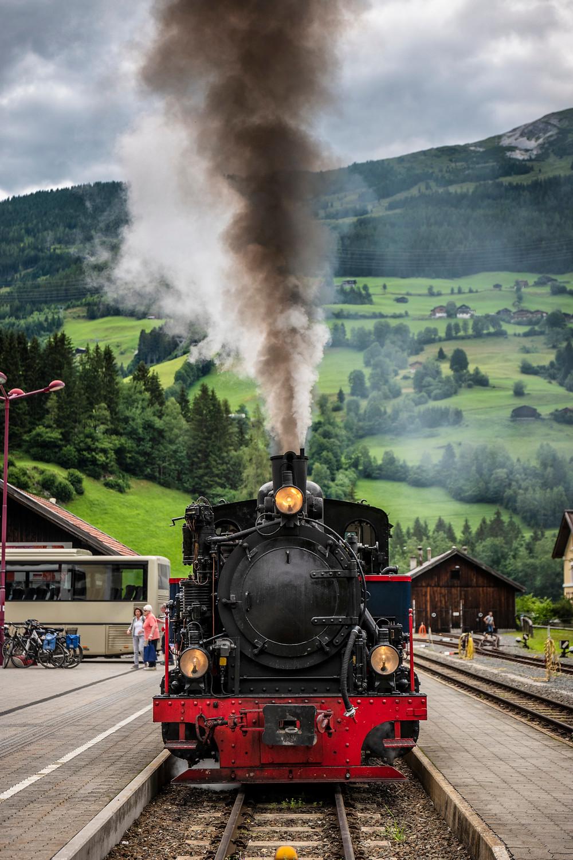 little train from Mittersill to Krimml