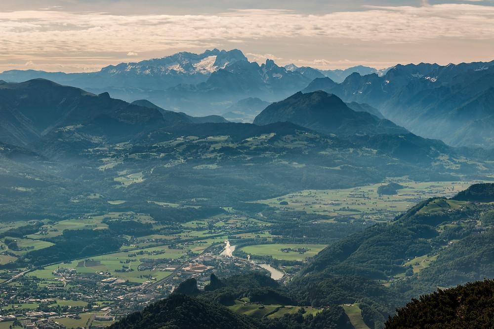 View from Untersberg, Austria