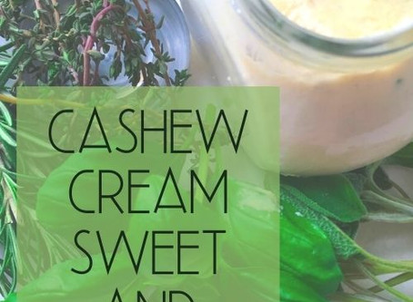 CASHEW CREAM SWEET AND SOUR