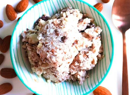 COCONUT ALMOND ICE CREAM
