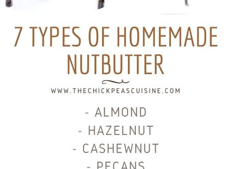 NUTTIN' TO DO? MAKE 7 TYPES OF BUTTER, LIKE CASHEW.