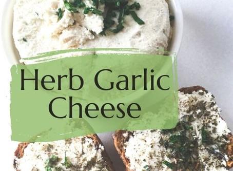 HERB GARLIC CHEESE