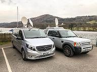 liveu production team uk vans