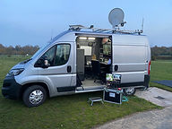 Mobile broadcast team Herefordshire