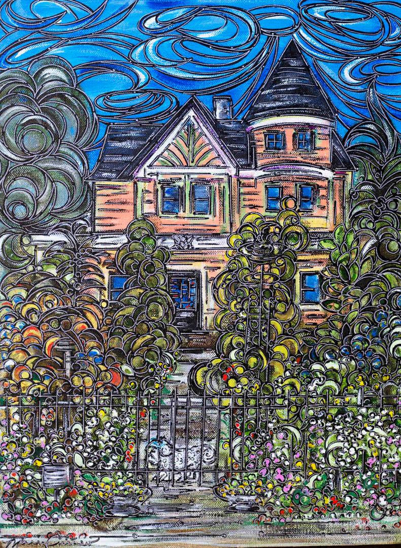 Title: Castle's Garden