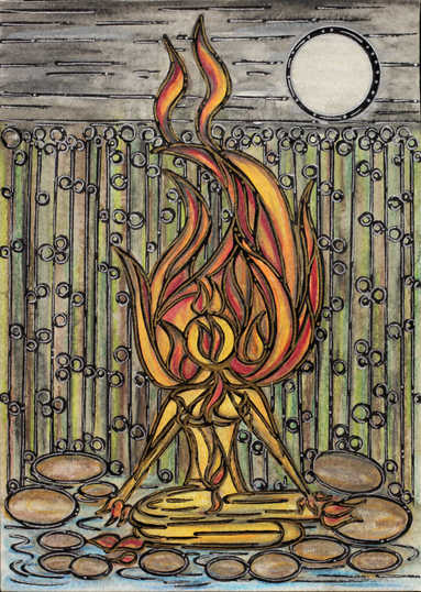 As your fire burns, may it light the way for you to see the Truth