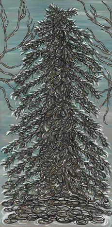 No. 1 Tree of Stillness (Reflection)