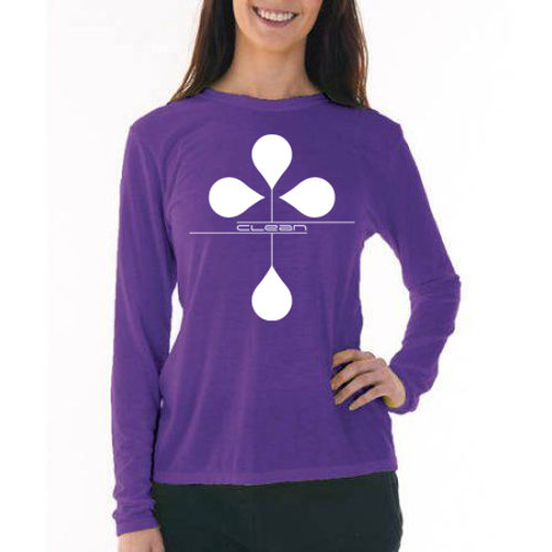 Women's Clean Long Sleeve T