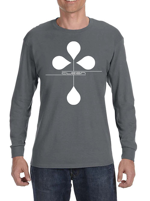Men's Clean Long Sleeve T