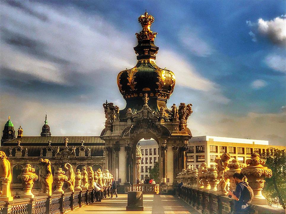 Дрезден, Обзорная экскурсия в Дрездене,