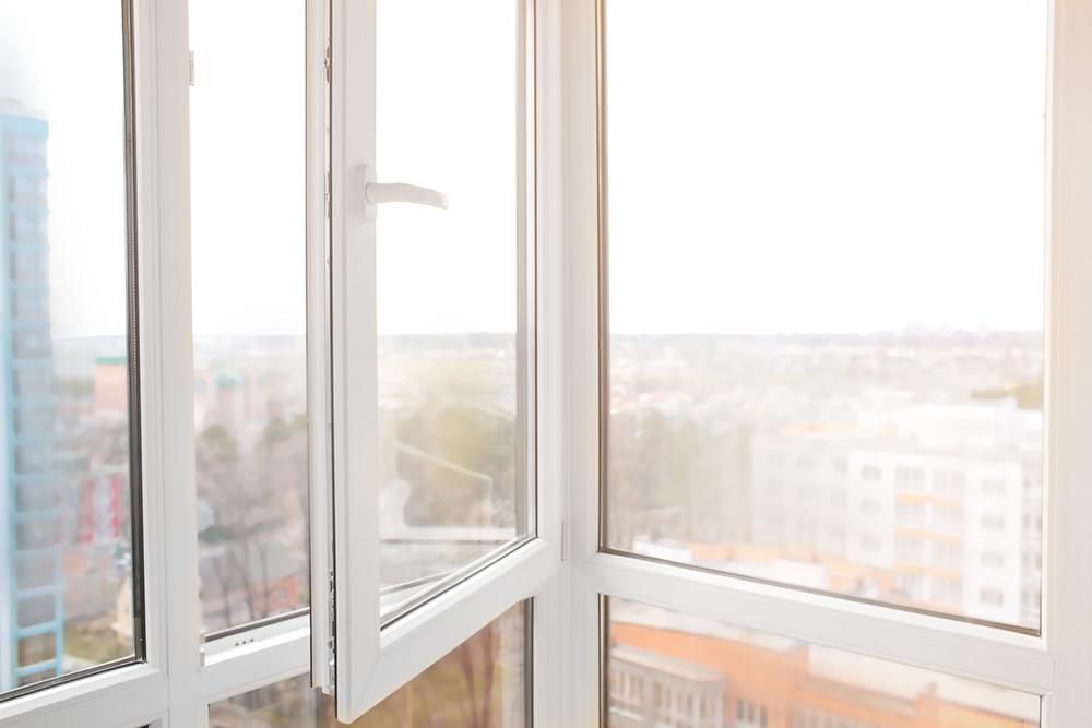 open windows air wind through home