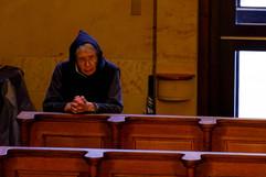 Monk at Prayer