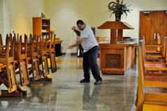 Mopping the Refectory
